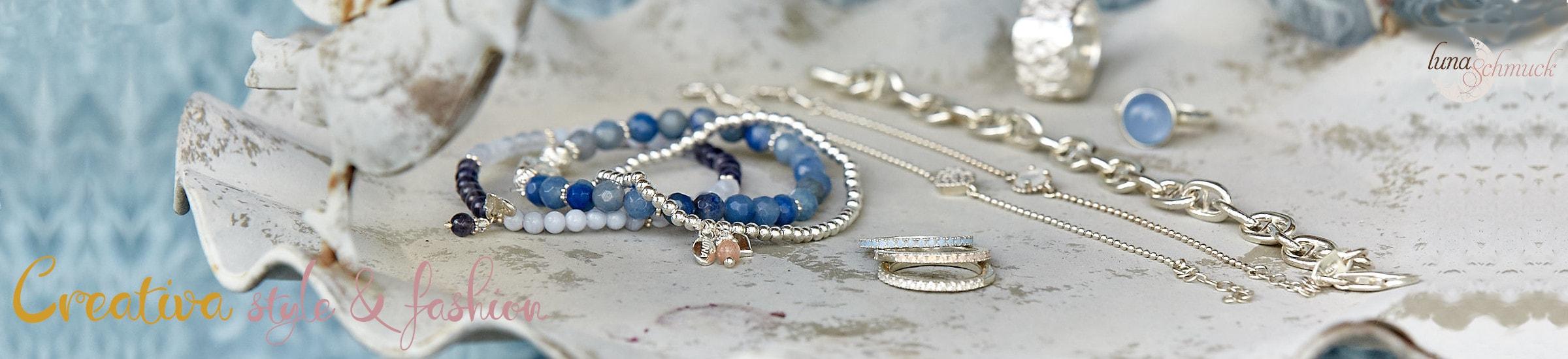 Creativa style & fashion präsentiert die neuen Kollektionen von Silberschmuck
