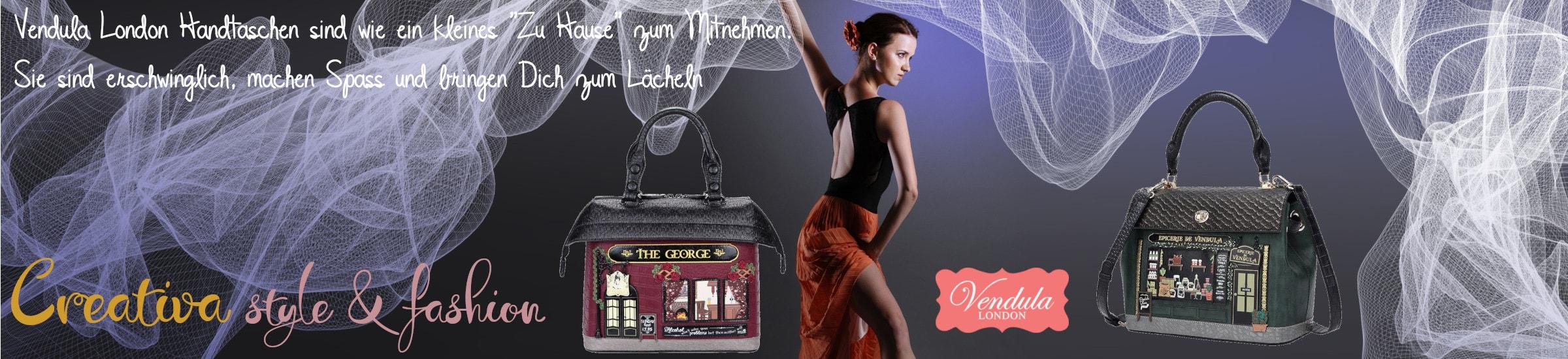 Creativa style & fashion präsentiert die neue Kollektion von Vendula London Damenhandtaschen